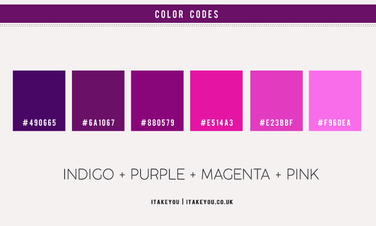 magenta vs pink, magenta color palette, magenta color scheme, indigo magenta pink and purple color palette, magenta and pink color scheme