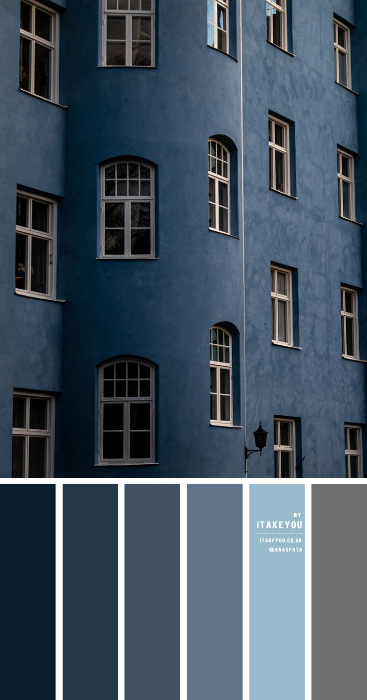 Dusty Blue Color Scheme – Color Palette #34