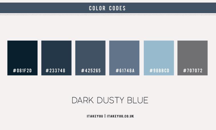 dusty blue color scheme, dark dusty blue color, dusty blue, dusty blue color , dusty blue color combo, dusty blue color combination, dark dusty blue and baby blue color combo