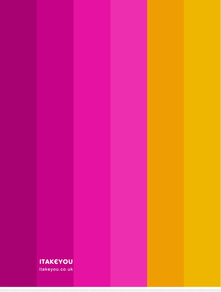 Magenta Color Scheme { Magenta and Mustard Yellow }