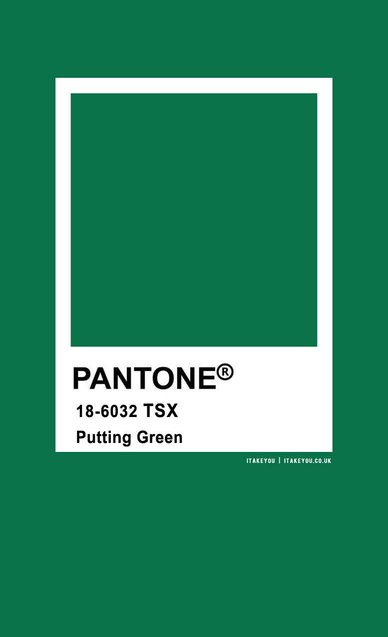 Pantone Color : Pantone Putting Green Color