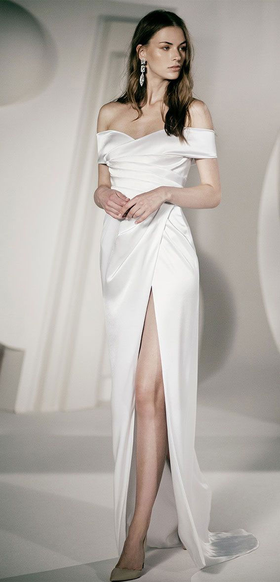 "Alon Livné White SS20 Wedding Dresses — Shannon Wedding Dress ""Rêverie"" Editorial"
