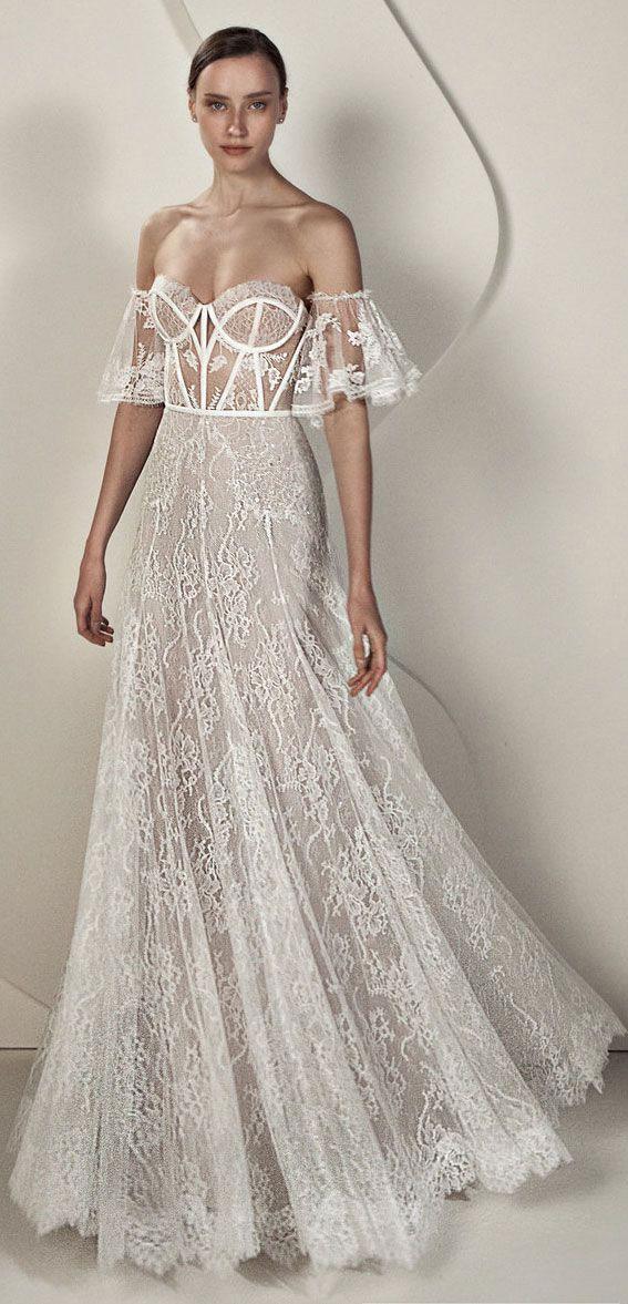 "Alon Livné White SS20 Wedding Dresses — Eve Wedding Dress ""Rêverie"" Editorial"