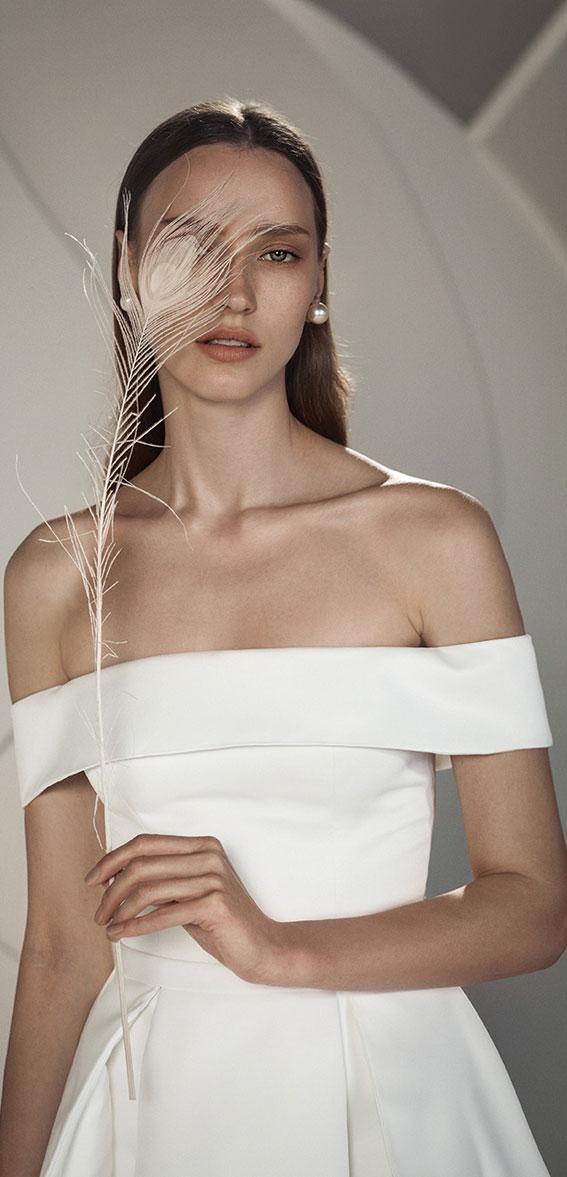 "Alon Livné White SS20 Wedding Dresses — Erica Wedding Dress ""Rêverie"" Editorial"