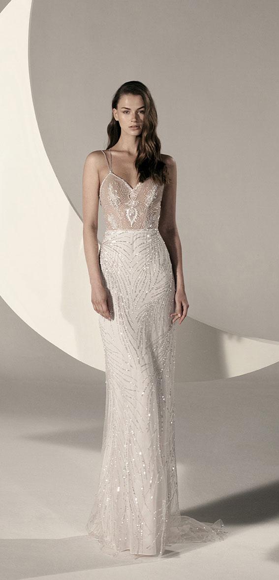 "Alon Livné White SS20 Wedding Dresses — Gia Wedding Dress ""Rêverie"" Editorial"