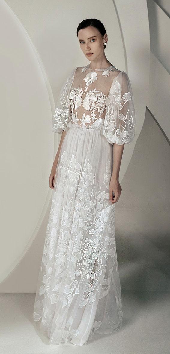 "Alon Livné White SS20 Wedding Dresses — Glory Wedding Dress ""Rêverie"" Editorial"