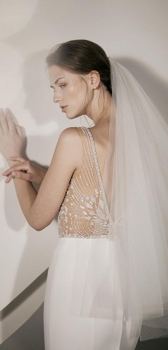 "Alon Livné White 2020 Wedding Dresses — Miley Wedding Dress ""Rêverie"" Editorial"