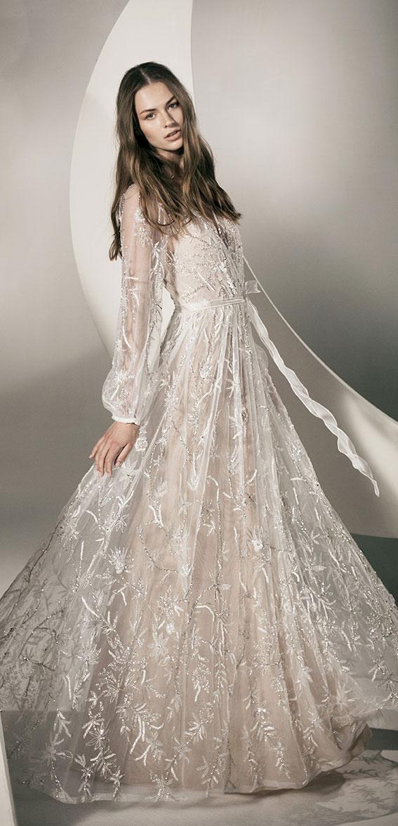 """Alon Livné White SS20 Wedding Dresses — Natalie Wedding Dress """"Rêverie"""" Editorial"""