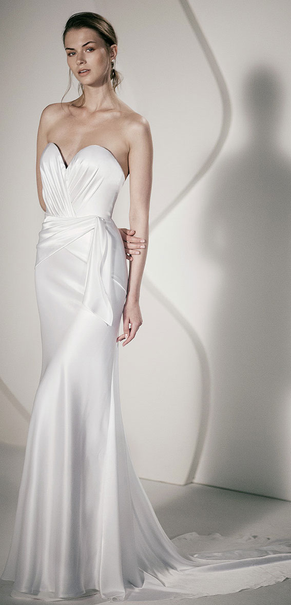 """Alon Livné White SS20 Wedding Dresses — Salma Wedding Dress """"Rêverie"""" Editorial"""