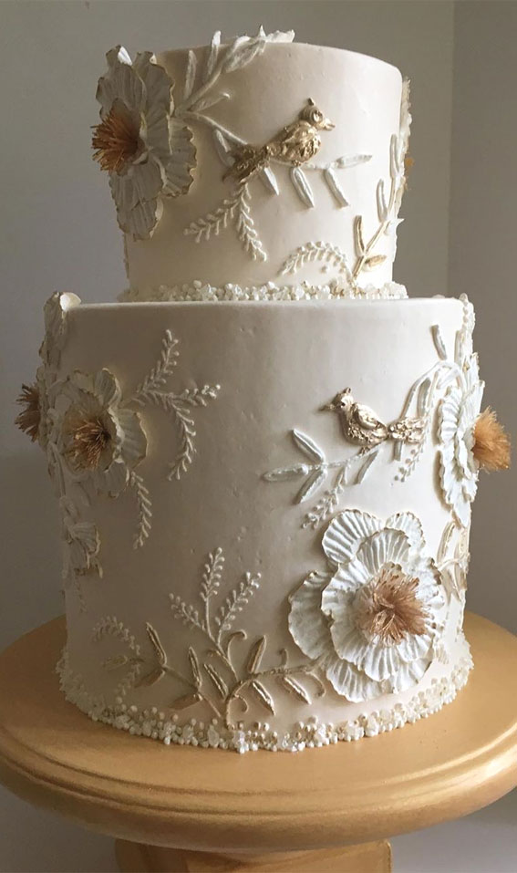 The Sweetest Buttercream Wedding Cakes For 2020