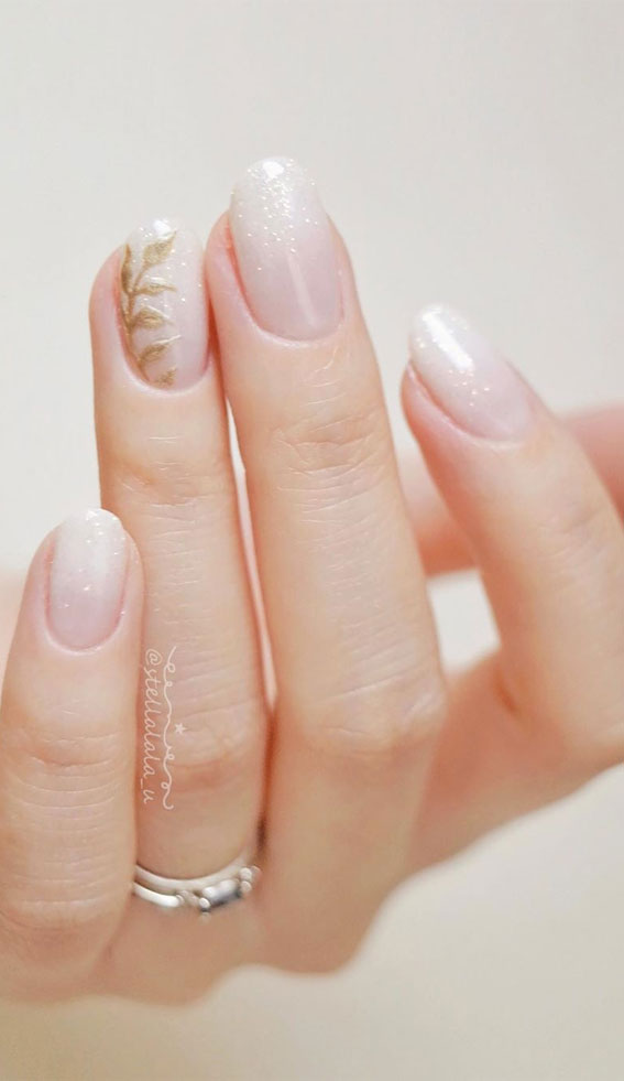 The Beautiful Wedding Nail Ideas for 2020