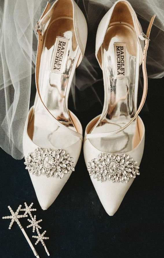 The perfect wedding shoes for stylish brides