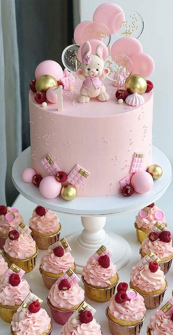 Cute 1st Baby Birthday Cake Designs First Birthday Cake Ideas