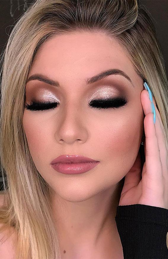 Braut Make-up, Hochzeit Make-up, Braut Make-up Look, Hochzeit Make-up Look # Makeuplook # Bridalmakeup #Hochzeit Make Makeideas