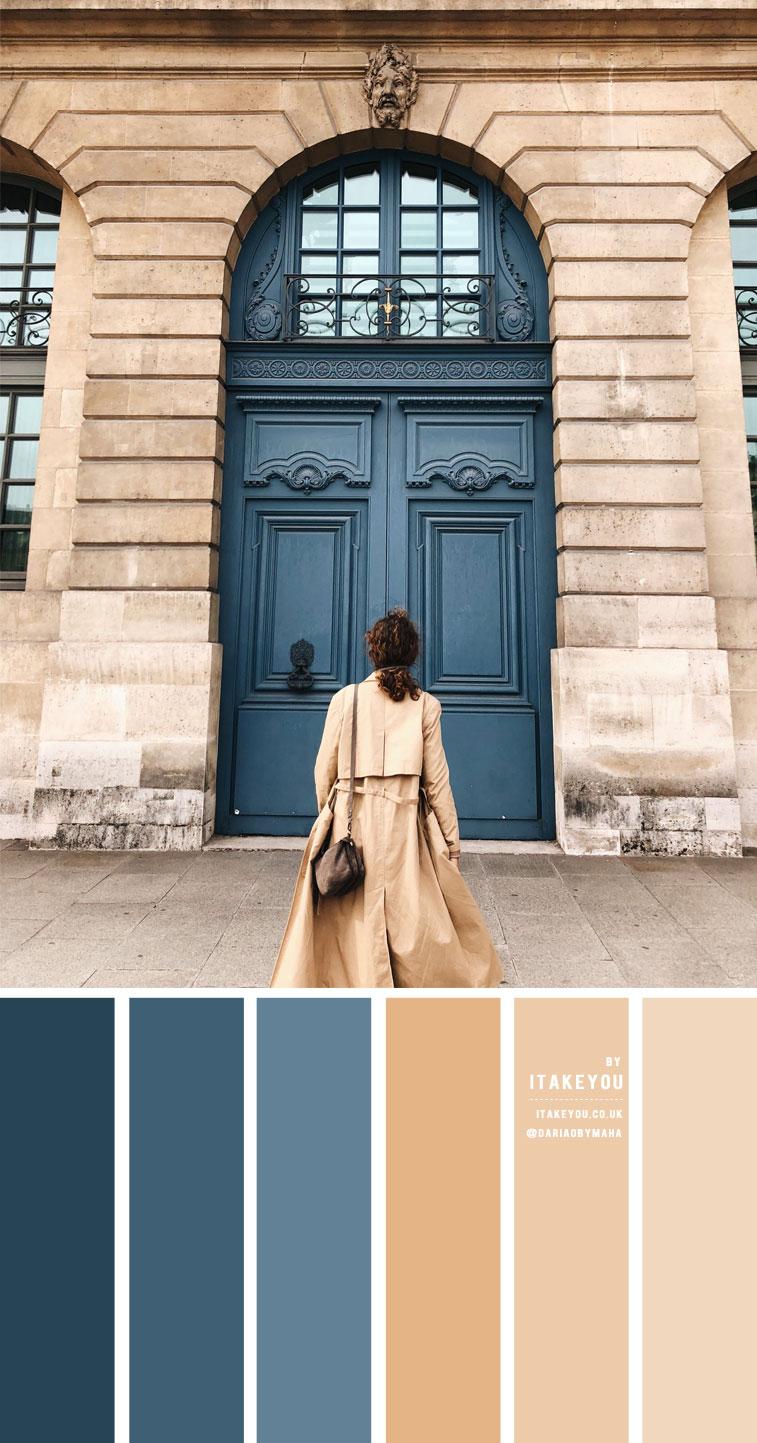 staubblau und taupe farbpalette, staubblau und taupe farbkombination #colorcombo neutrale farbpalette #taupe #dustyblue staubblau und taupe farbschema