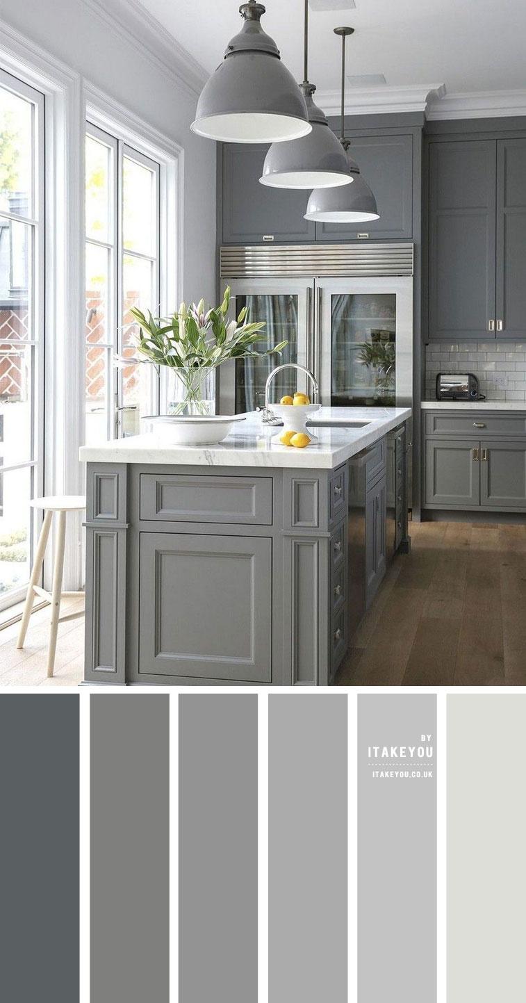 Grey Colour Palette for Kitchen I Take You   Wedding Readings ...
