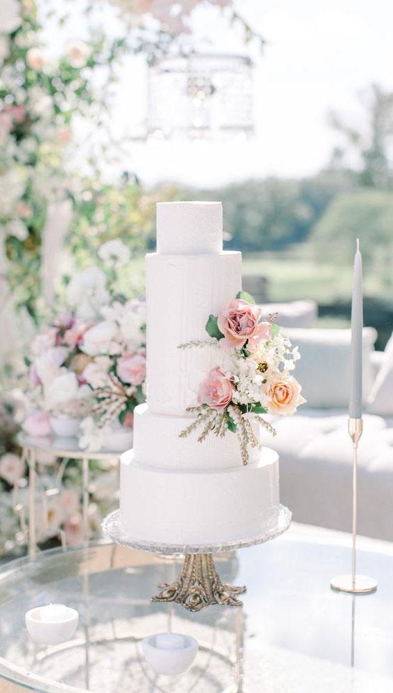 Hochzeitstorte Ideen, Hochzeitstorte Dekorationsideen